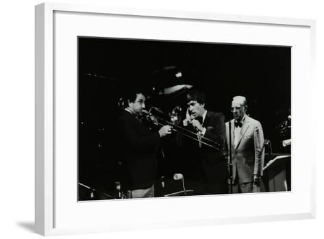 The Herb Miller Orchestra in Concert at the Forum Theatre, Hatfield, Hertfordshire, 1985-Denis Williams-Framed Art Print