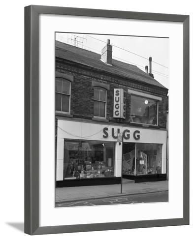 Suggs Shop, Rotherham, South Yorkshire, 1960-Michael Walters-Framed Art Print