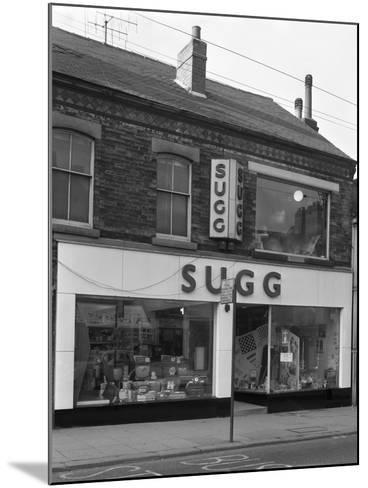 Suggs Shop, Rotherham, South Yorkshire, 1960-Michael Walters-Mounted Photographic Print