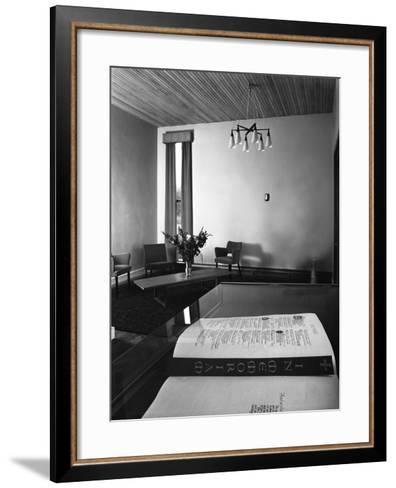 Chapel of Remembrance, Barnsley Co-Op, South Yorkshire, 1962-Michael Walters-Framed Art Print