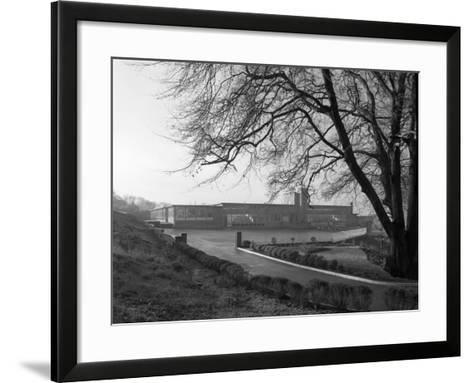 Tapton Hall Secondary Modern School, Sheffield, South Yorkshire, 1960-Michael Walters-Framed Art Print