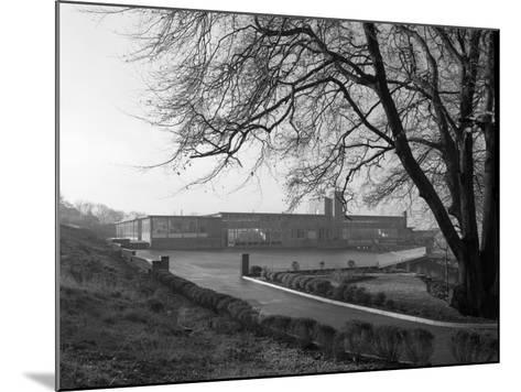 Tapton Hall Secondary Modern School, Sheffield, South Yorkshire, 1960-Michael Walters-Mounted Photographic Print