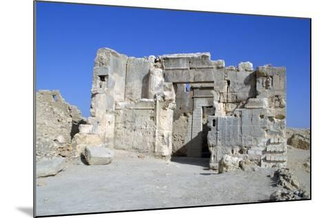 Temple of the Oracle, Siwa, Egypt-Vivienne Sharp-Mounted Photographic Print