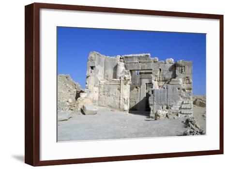 Temple of the Oracle, Siwa, Egypt-Vivienne Sharp-Framed Art Print
