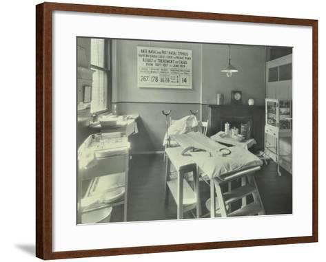 A Theatre at the Thavies Inn Hospital, London, 1930--Framed Art Print