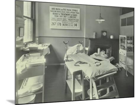 A Theatre at the Thavies Inn Hospital, London, 1930--Mounted Photographic Print