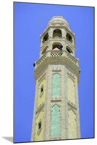 Minaret, Tozeur, Tunisia-Vivienne Sharp-Mounted Photographic Print