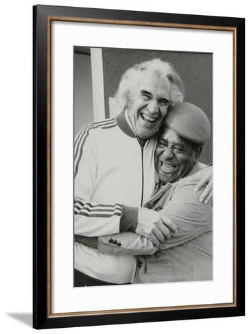 Dave Brubeck and Dizzy Gillespie at the Capital Radio Jazz Festival, Alexandra Palace, London, 1979-Denis Williams-Framed Art Print