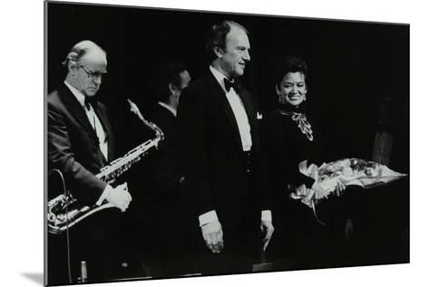 The Ted Heath Orchestra in Concert at the Forum Theatre, Hatfield, Hertfordshire, 18 November 1983-Denis Williams-Mounted Photographic Print