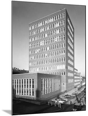 New Metallurgy Block Shortly after Completion, Sheffield University, South Yorkshire, 1966-Michael Walters-Mounted Photographic Print
