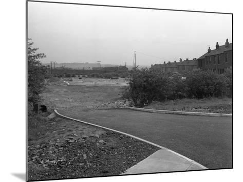 New Development, Kilnhurst, South Yorkshire, 1956-Michael Walters-Mounted Photographic Print