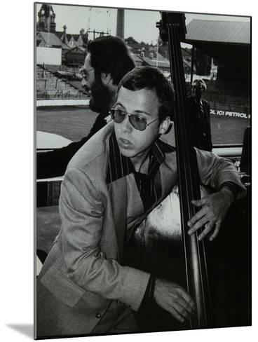 Marc Johnson and Bill Evans at the Newport Jazz Festival, Ayresome Park, Middlesbrough, 1978-Denis Williams-Mounted Photographic Print