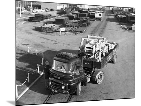 Austin 504 Tractor Unit Belonging to the National Coal Board (Ncb), 1963-Michael Walters-Mounted Photographic Print