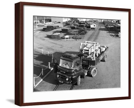 Austin 504 Tractor Unit Belonging to the National Coal Board (Ncb), 1963-Michael Walters-Framed Art Print