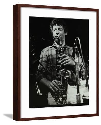 The Daryl Runswick Quartet in Concert at the Stables, Wavendon, Buckinghamshire, 1981-Denis Williams-Framed Art Print