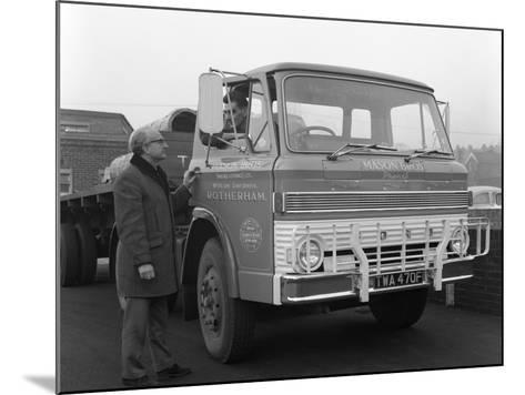 Ford D Series Lorry, 1967-Michael Walters-Mounted Photographic Print