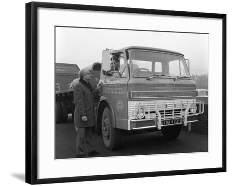 Ford D Series Lorry, 1967-Michael Walters-Framed Art Print