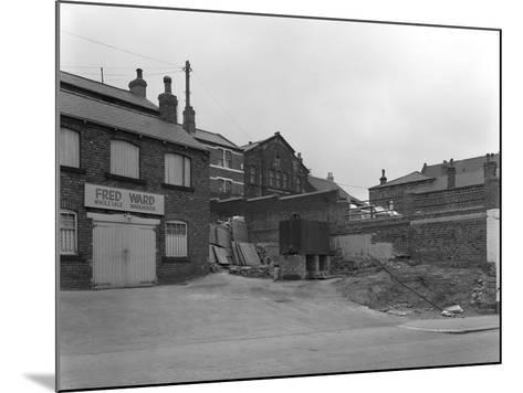 Greengrocers Warehouse Exterior, Mexborough, South Yorkshire, 1966-Michael Walters-Mounted Photographic Print