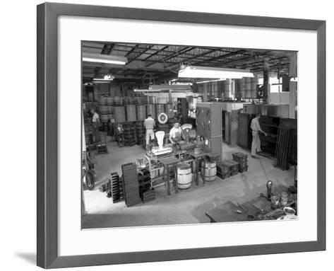 Jowitt and Rogers Factory, Philadelphia, Pennsylvania, Usa, 1963-Michael Walters-Framed Art Print