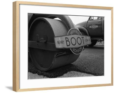 Henry Boot Road Roller and a Bedford A3S Tipper, 1955-Michael Walters-Framed Art Print