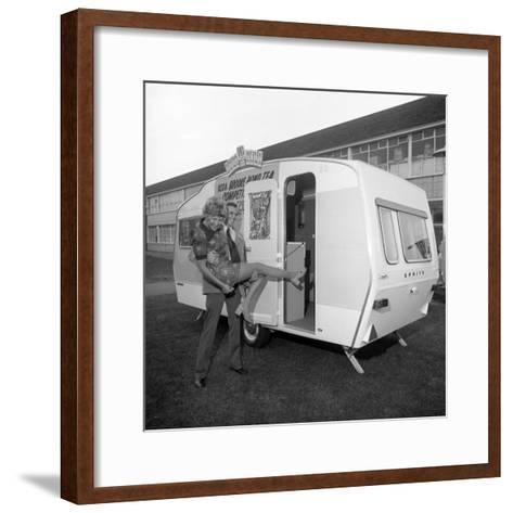 Caravan Winners, Rotherham, South Yorkshire, 1972-Michael Walters-Framed Art Print