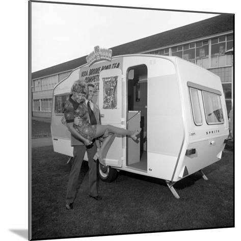 Caravan Winners, Rotherham, South Yorkshire, 1972-Michael Walters-Mounted Photographic Print
