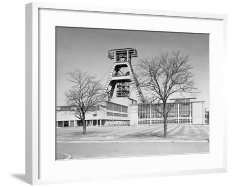 The Big A, Hem Heath Colliery, Trentham, Staffordshire, 1960-Michael Walters-Framed Art Print