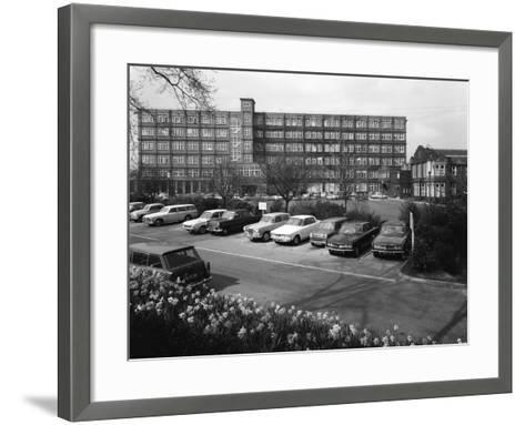 A Selection of 1960S Cars in a Car Park, York, North Yorkshire, May 1969-Michael Walters-Framed Art Print