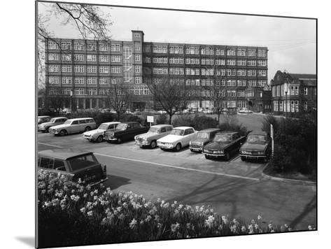 A Selection of 1960S Cars in a Car Park, York, North Yorkshire, May 1969-Michael Walters-Mounted Photographic Print