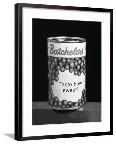 Batchelors Peas Tin, 1963-Michael Walters-Framed Art Print
