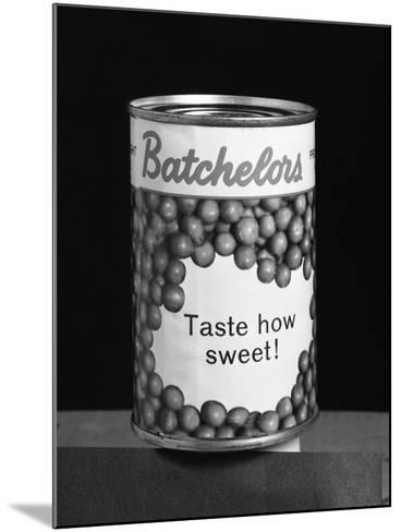 Batchelors Peas Tin, 1963-Michael Walters-Mounted Photographic Print
