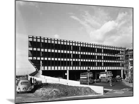 Recently Completed Doncaster North Bus Station, South Yorkshire, 1967-Michael Walters-Mounted Photographic Print