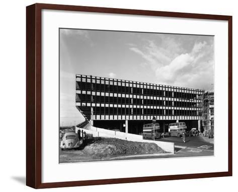Recently Completed Doncaster North Bus Station, South Yorkshire, 1967-Michael Walters-Framed Art Print