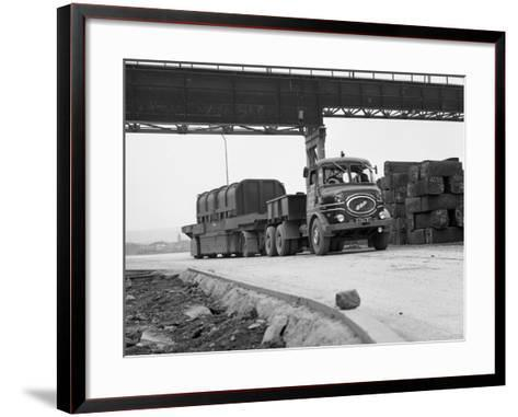 Erf 66Gsf Lorry, Park Gate Iron and Steel Co, Rotherham, South Yorkshire, 1964-Michael Walters-Framed Art Print
