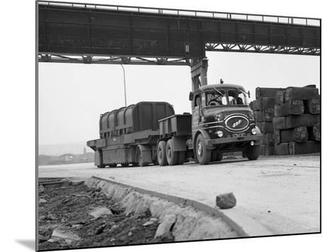 Erf 66Gsf Lorry, Park Gate Iron and Steel Co, Rotherham, South Yorkshire, 1964-Michael Walters-Mounted Photographic Print