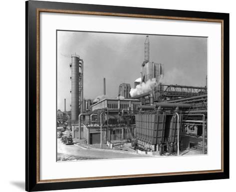 Manvers Coal Preparation Plant, Near Rotherham, South Yorkshire, 1956-Michael Walters-Framed Art Print