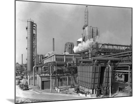 Manvers Coal Preparation Plant, Near Rotherham, South Yorkshire, 1956-Michael Walters-Mounted Photographic Print