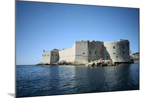 Fort St John, Dubrovnik, Croatia-Vivienne Sharp-Mounted Photographic Print