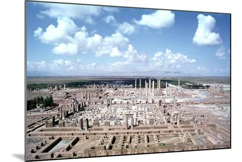 Panorama of the Ruins of Persepolis, Iran-Vivienne Sharp-Mounted Photographic Print