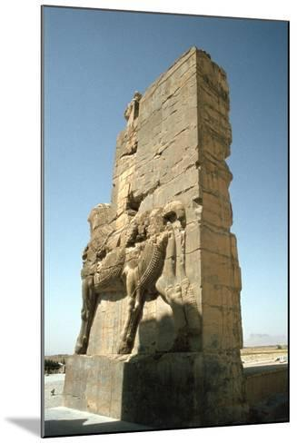 Back View of the Gate of All Nations, Persepolis, Iran-Vivienne Sharp-Mounted Photographic Print