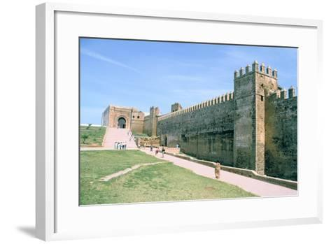 Oudaia Kasbah, Rabat, Morocco-Vivienne Sharp-Framed Art Print