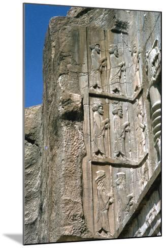 Tomb of Artaxerxes Ii, Persepolis, Iran-Vivienne Sharp-Mounted Photographic Print