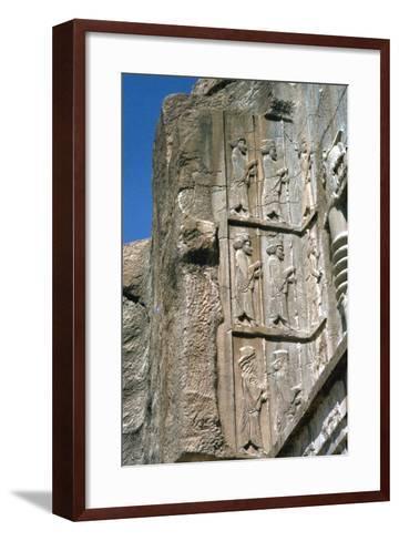 Tomb of Artaxerxes Ii, Persepolis, Iran-Vivienne Sharp-Framed Art Print