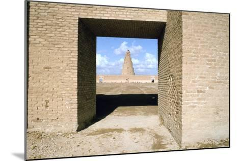 Minaret from Within the Friday Mosque, Samarra, Iraq, 1977-Vivienne Sharp-Mounted Photographic Print