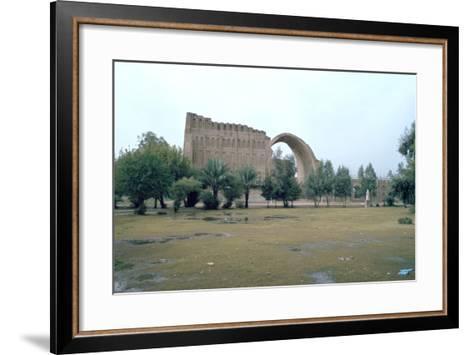 Sassanian Arch, Ctesiphon, Iraq, 1977-Vivienne Sharp-Framed Art Print
