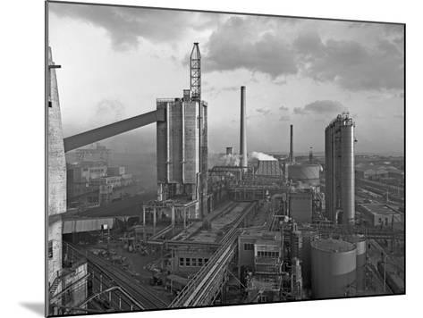 Manvers Coal Processing Plant, Wath Upon Dearne, Near Rotherham, South Yorkshire, February 1957-Michael Walters-Mounted Photographic Print