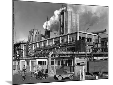 Manvers Coal Processing Plant, Wath Upon Dearne, Near Rotherham, South Yorkshire, January 1957-Michael Walters-Mounted Photographic Print