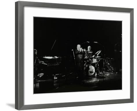 The Terry Lightfoot Band in Concert at Oakmere House, Potters Bar, Hertfordshire, 7 October 1986-Denis Williams-Framed Art Print