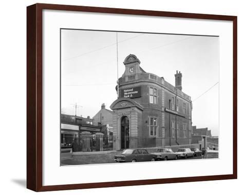 The Natwest Bank, Mexborough, South Yorkshire, 1971-Michael Walters-Framed Art Print