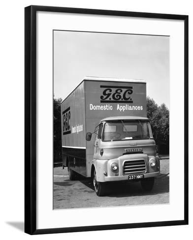Gec Austin Delivery Lorry, Swinton South Yorkshire, 1963-Michael Walters-Framed Art Print